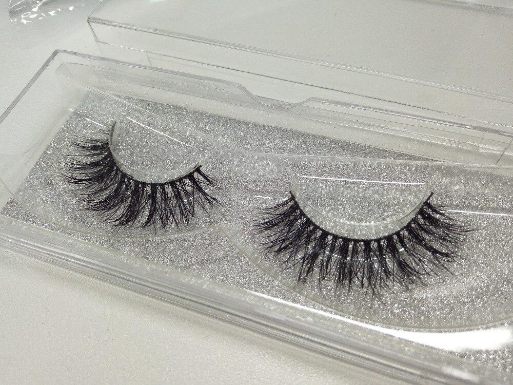 New arrive Handmade Eyelash Lashes Natural Beauty Mink Eyelash Extensions font b Maquiagem b font Fake