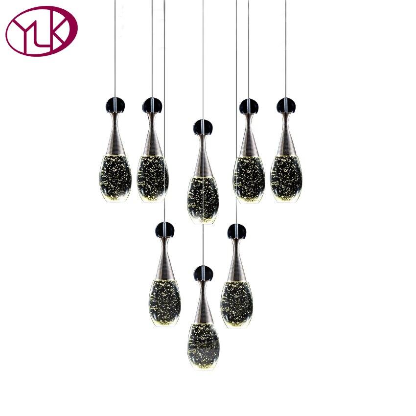 Top Luxury 8 Lights Dining Room Chandelier Crystal Light Modern LED cristals Chandeliers Lustres De Cristal Lamp For Living Room