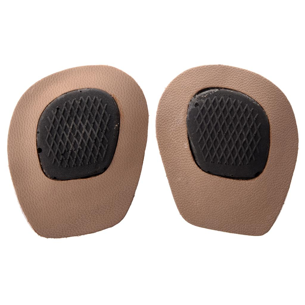 TEXU 1 pair Back Half-Insoles for Shoes with High Heels: One Size texu practical pair beige foam front pads cushion holes design shoes half insoles