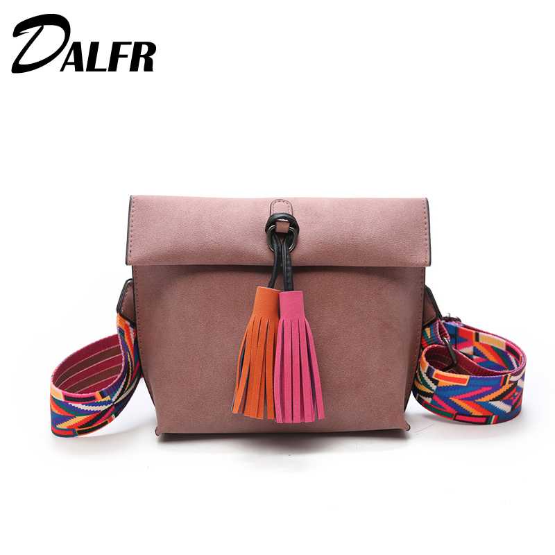 DALFR PU Leather Women Bag Fashion Crossbody Bags for Girls Female Shoulder Bags Luxury Top-Handle Bag Mini