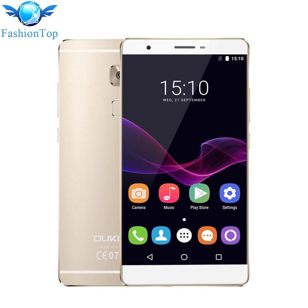 Цена за Оригинал Oukitel U13 5.5 ''Smartphone Android 6.0 MTK6753 Окта основные 1.3 ГГц 4 Г Мобильный Телефон 3 Г RAM 64 Г ROM Отпечатков Пальцев Мобильный Телефон