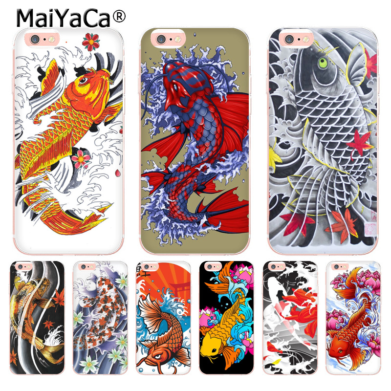 Fitted Cases Cellphones & Telecommunications 2019 Fashion Juntsai Koi Carp Fish Cell Phone Case For Apple Iphone X Xr Xs Max 8 7 Plus 6 6s 5 5s Se Hard Pc Tpu Case Back Cover Capa
