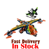 LEPIN 14044 Aaron's X bow Nexo Nexus Knights Building Blocks Bricks Toys DIY For Children Compatible withINGly 72005