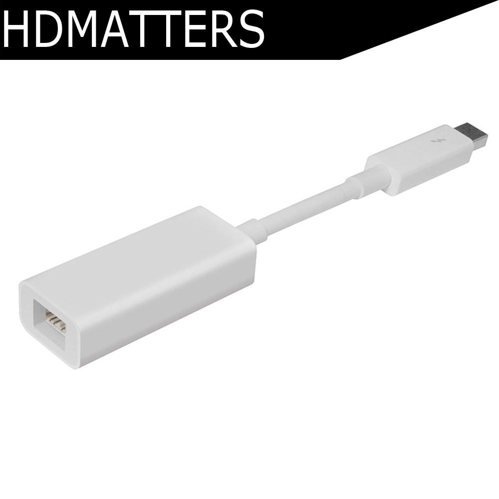 firewire thunderbolt cord - HDmatters Genuine Thunderbolt to FireWire 800 Adapter cable A1463/MD464ZM/A