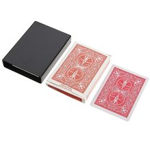 2021 novo 1pc incrível deck desaparecendo desaparecendo caso de cartão mágico fechar-se caixa de truque mágico divertido poker desaparecendo caso