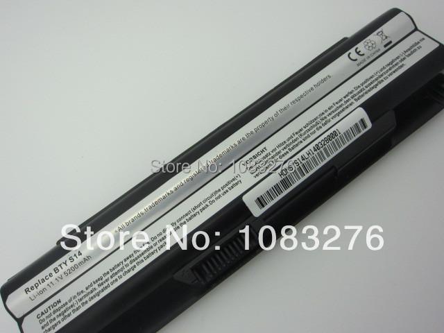 5200 MAH substituição da bateria do portátil para MSI GE620, GE620DX, MS-1482MS-16G1 MS-16G4 MS-16G7 FR700 FX700
