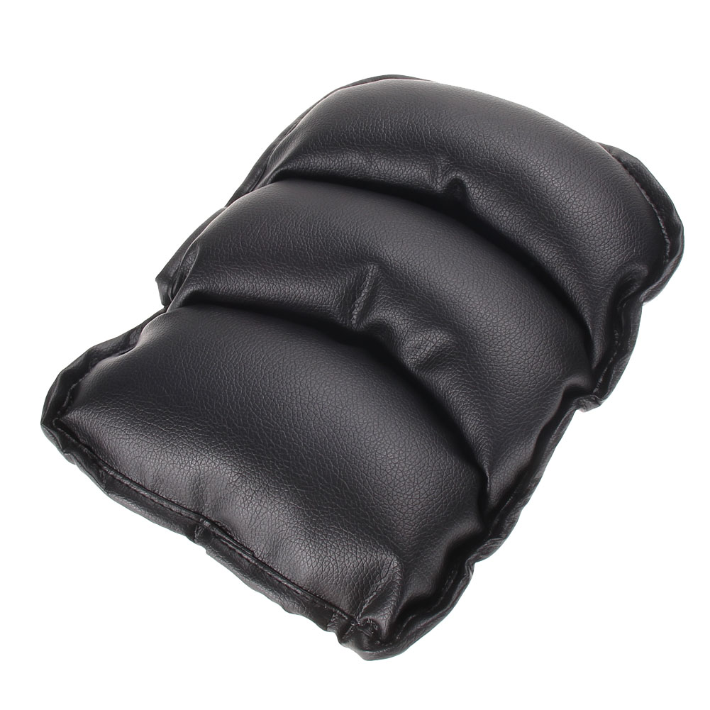 Universal Car Armrest Soft Leather Central Console Box Pad Cover Cushion Support Box Arm Rest Seat Box Padding Protective Case