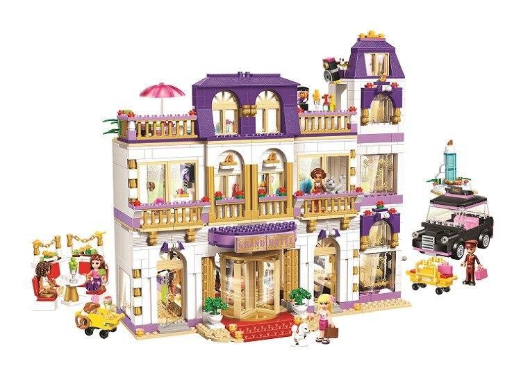 10547 Amis Heartlake Grand Hotel Compatible avec 41101 lepin 01045 Blocs de Construction Briques Jouets cadeau pour les enfants