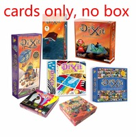 Cards Game Dixit English Board Game Basic Quest Odassey Origins Journey Daydreams Memories Revelations Playing Card