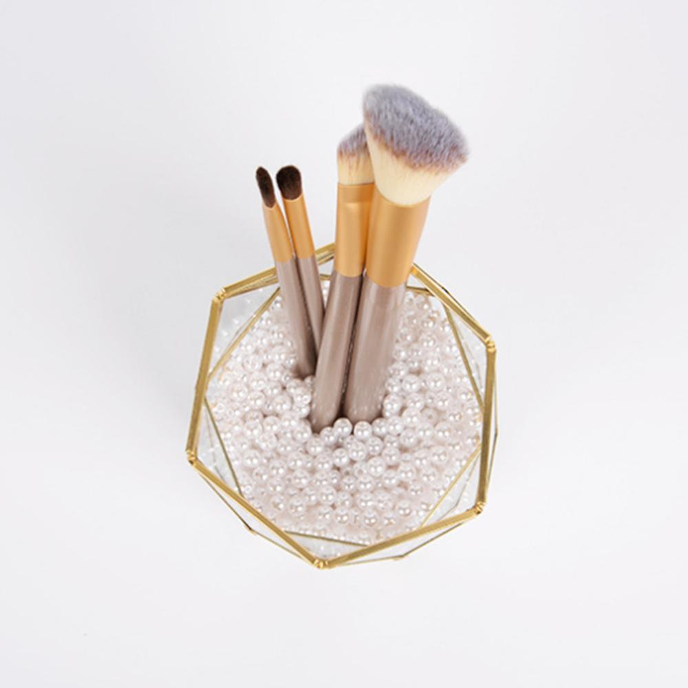 Joint Triangle Pen Holder Makeup Brushes Vase Storage Box Home Office Desk Organizer ToolJoint Triangle Pen Holder Makeup Brushes Vase Storage Box Home Office Desk Organizer Tool