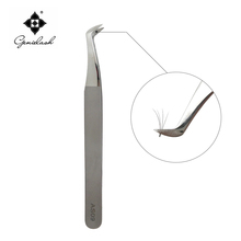AS09 Tweezers Tools Especially for 3D 6D Volume Mink Eyelash extension Lashes Free shipping