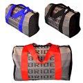 JDM Sparcoss alça de mochila com saco de Tecido Auto Carro De Corrida Noiva estilo escola mochila de lona para Sparcos Racing-Red