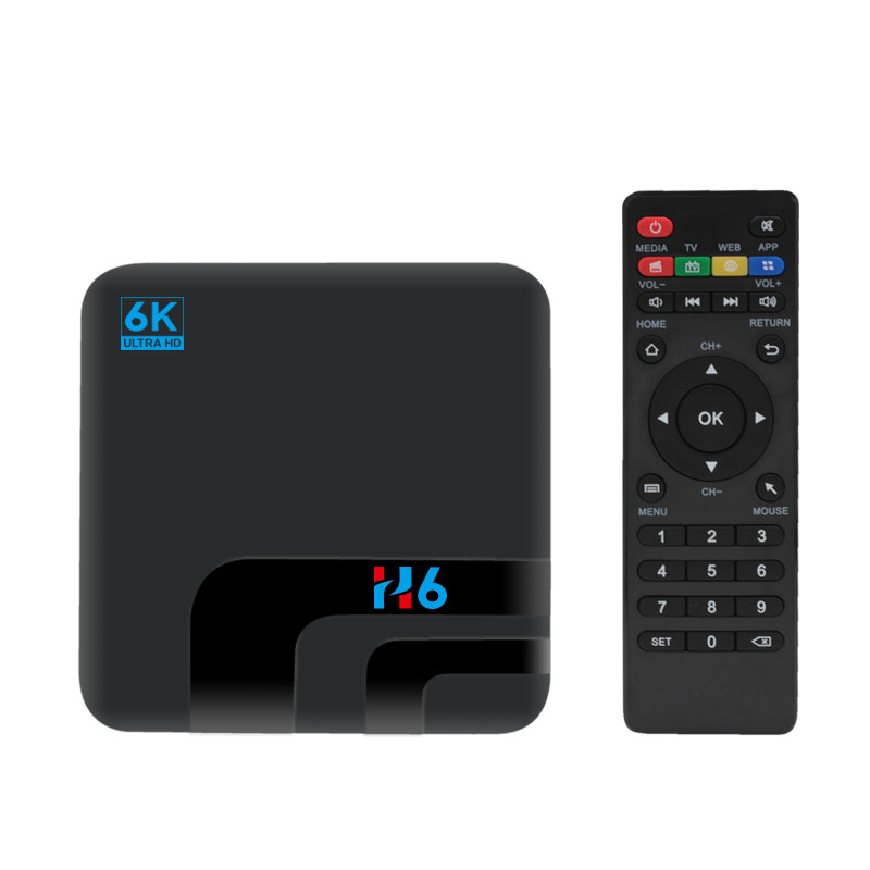 Image 4 - XGODY New H6 Android 9.0 6K Ultra HD Smart TV BOX 2GB 16GB Allwinner H6 Quad Core Media Player 2.4G WIFI Bluetooth Set Top Box-in Set-top Boxes from Consumer Electronics