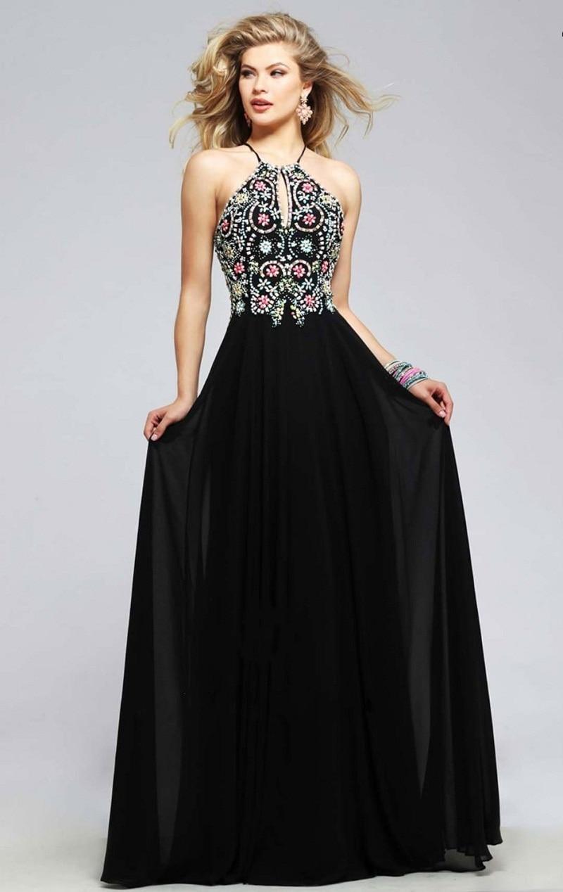 Cute Long Black Prom Dresses