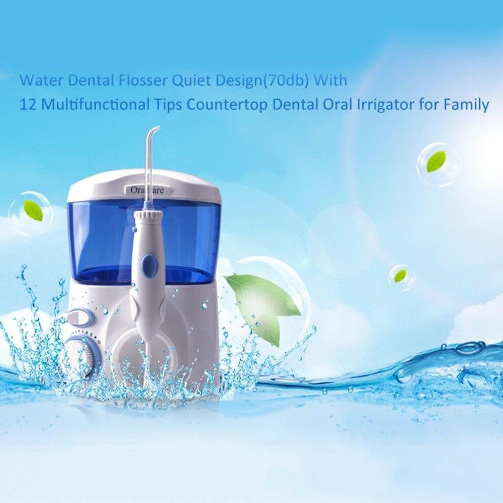 Pratical Electric Teeth Washing Machine Waterflosser Electric Water Jet Pick Flosser Oral Irrigator in Oral Irrigators from Home Appliances