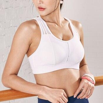 Sujetador deportivo para gimnasio, Top de marca, Sujetador deportivo para mujer, Sujetador deportivo, Top para Yoga, sujetador para Yoga, ropa para mujer