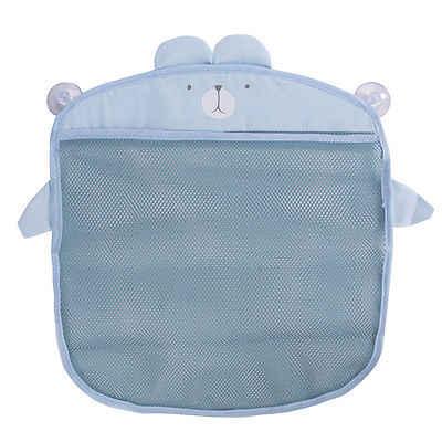 Sucker wisząca torba do przechowywania na ścianę dla dzieci do kąpieli dla dzieci torba siatkowa kosz organizator