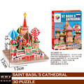 Kids Puzzles for 5-7 years olds DIY Saint Basil's Cathedral 3d Puzzle model building kits