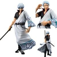 ALEN Anime MegaHouse Variable Action Heroes GINTAMA Silver Soul Sakata Gintoki PVC Action Figure Collectible Model Toys Doll 18