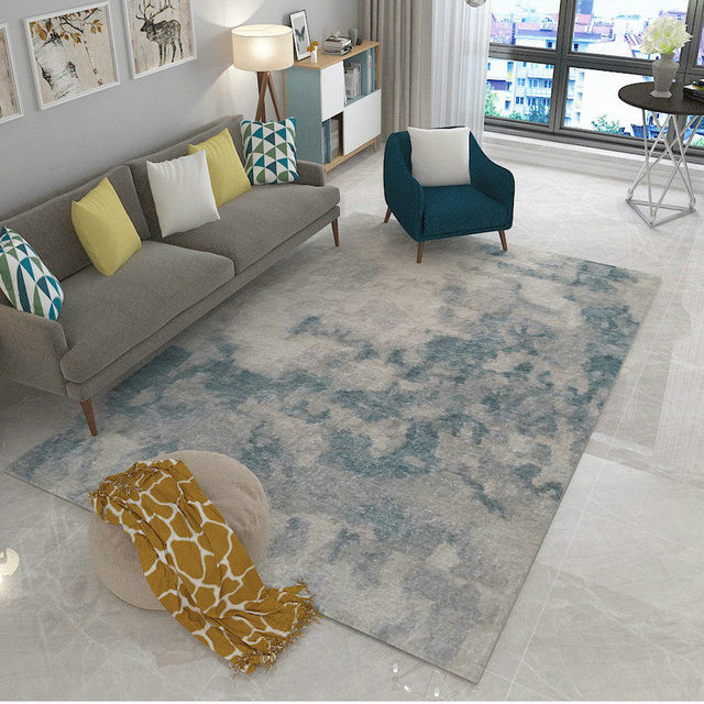 Us 39 97 45 Off Post Modern Art Carpet Home Decor Bedroom Carpet Sofa Coffee Table Floor Mat Soft Study Rug Rectangle Nordic Rugs Bedside Mats In