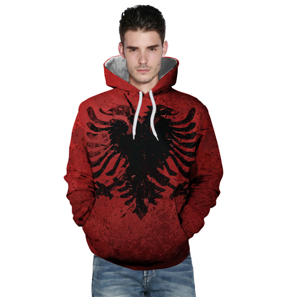 Brand New Fashion Sportswear Men Hoodies Loves' Casual Autumn Winter Printing Long Sleeve Sportswear Warm Sweatshirt For Male