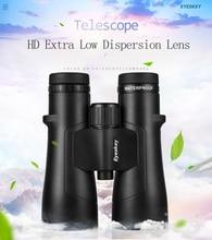 ED Glass Binocular IPX8 impermeable 12x /10x /8x telescopio de alta potencia Bak4 con recubrimiento múltiple de fase Super recubrimiento para caza al aire libre