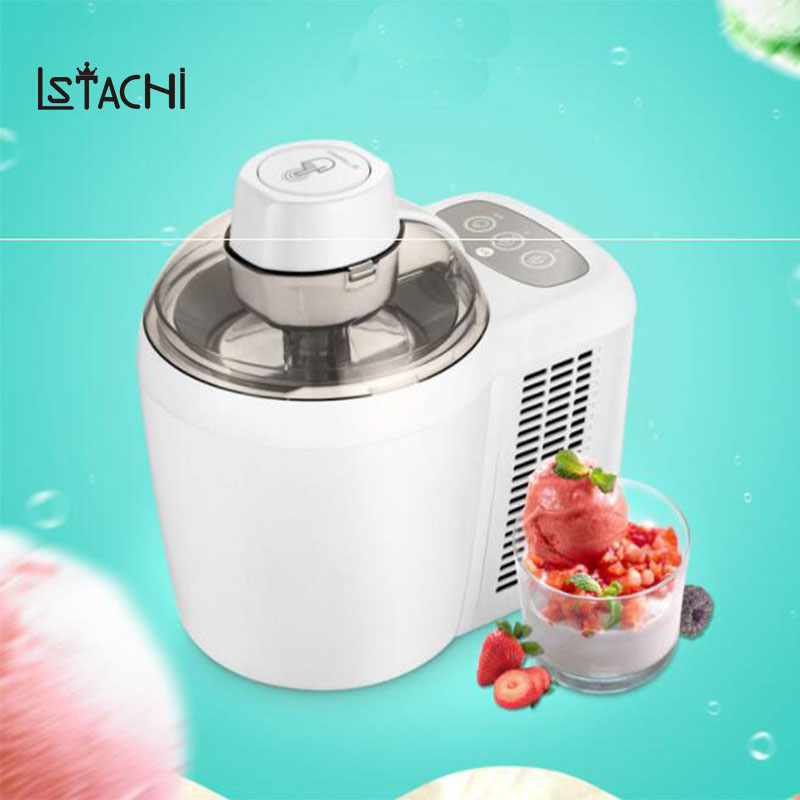 LSTACHi Household electric automatic Fruit ice cream machine children frozen sorbet DIY Icecream Cool maker цена
