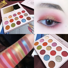 Eyeshadow Palette 15 Color Make up Pallete Charming Pigmented Eye Shadow Powder Pallete Shimmer Matte Glitter Eyeshadow Cosmetic 18 color glitter eyeshadow palette matte shimmer eyeshadow make up cosmetic eye shadow makeup pallete