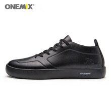 Купить с кэшбэком ONEMIX 2018 men skateboarding shoes light cool sneakers sport Outdoor Men Shoes outdoor walking size 39-45