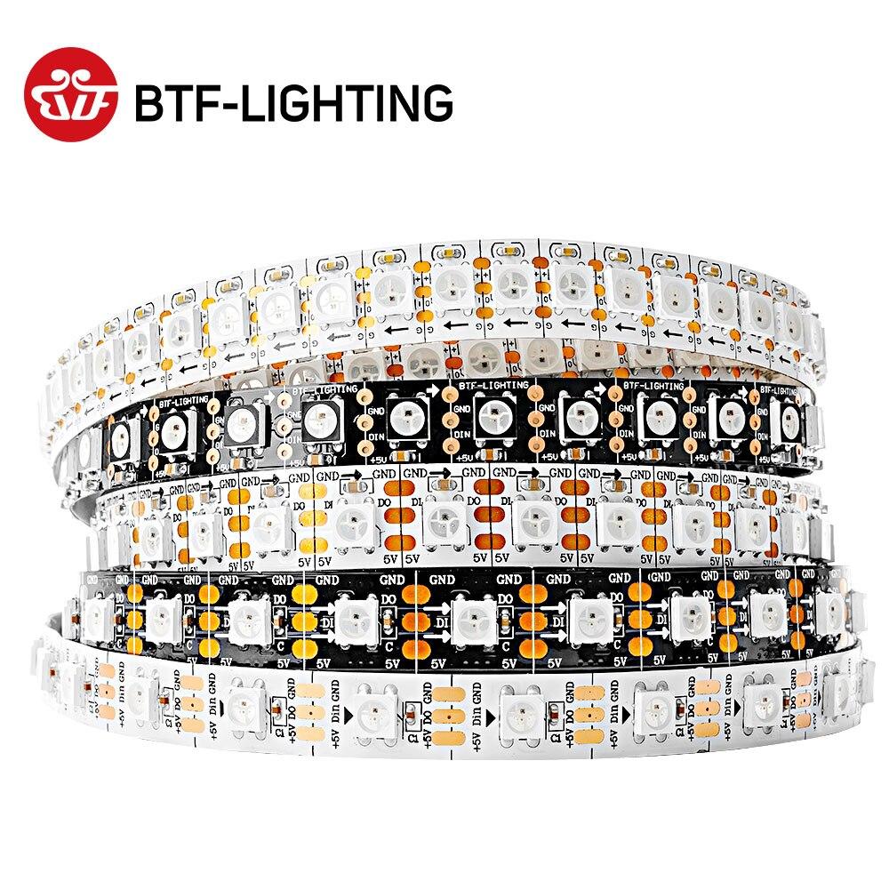 Wholesale WS2812B RGB Led Pixel Strip Light 1m/4m/5m 30/60/74/96/144 Pixels/leds/m Individually Addressable IP30/65/67 DC5V