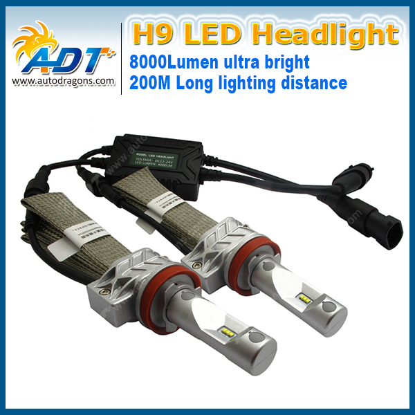 8000LM DC12-24V 6500K Canbus Fanless Design G5NS PH car led headlights H3/880/881/H16/5202/H8/H9/H11/H10/9005/HB3/9006/HB4 2015 milan 5000lm fanless 5000lm 6000lm 40w fish tail 6000k 881 led for all car freeshipping mmm