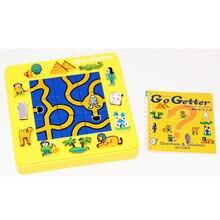 Go Getter Juego de mesa familiares para niños, rompecabezas misterioso de 24 niveles, el mejor regalo para fiesta, juego de lógica divertido
