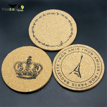 1pcs 10cm Soft Wood Slices Bar Mats Coasters Reclaimed Willow Coaster