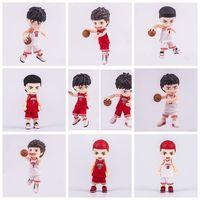10cm Japanese anime figure Q version SLAM DUNK Nendoroid action figure collectible model toys for boys