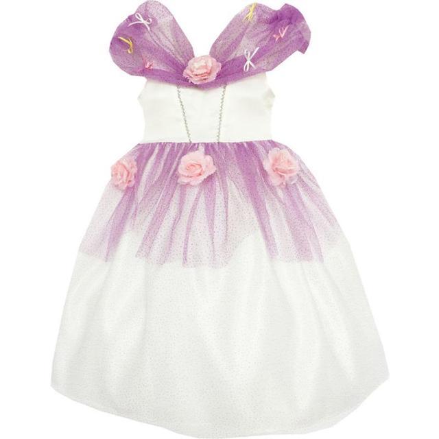 c296135d8e15 Sunny Fashion Vestiti Bambina Fiore Ragazza Vestito Principessa Rosa Maglia  Paillette Nozze Viola