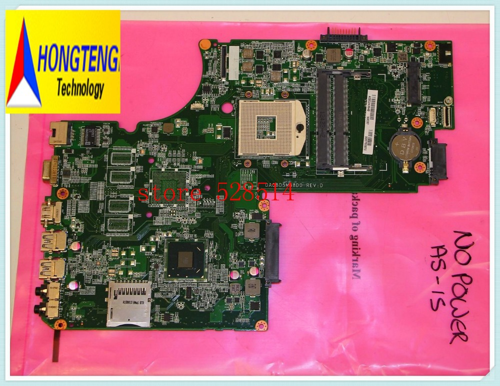 FOR Toshiba Satellite l75 L75-A7350 Motherboard DA0BD5MB8D0 A000243940 fully tested