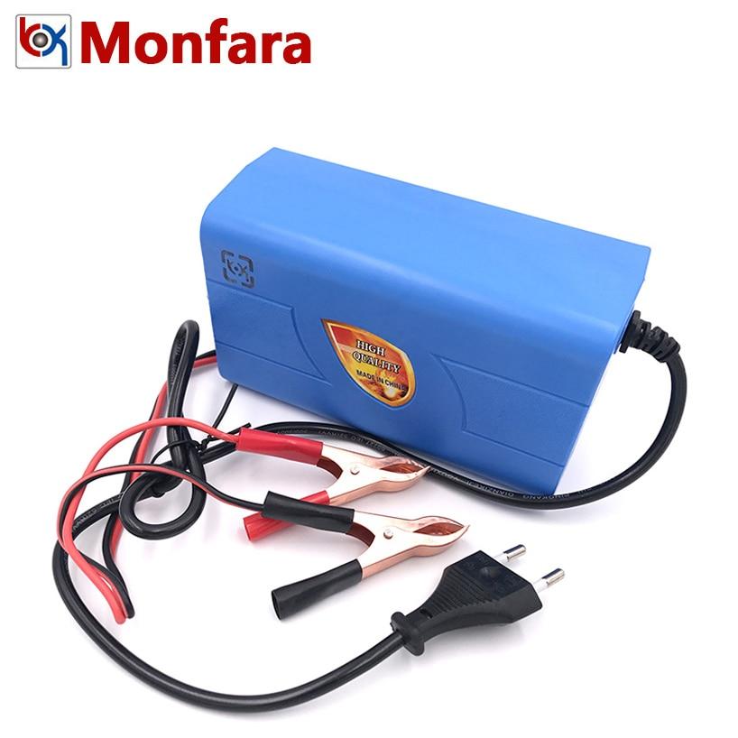 12 V 6A умный автоматический автомобильный Батарея Зарядное устройство 3 этапа постоянный ток Напряжение плавающего заряда авто двигатель 12В ...