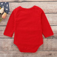 Christmas Clothes Babys Long Sleeve Jumpsuit
