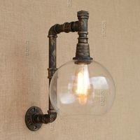 American Village Industrial Windmill Lamp Loft Retro Gallery Gallery Cafe Bar Restaurant Water Wall Light ZL186