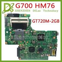 KEFU G700 for Lenovo G700 laptop motherboard BAMBI mainboard with gt720 GPU HM76 11SN0B5M11 11S90003042 original mainboard
