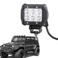 4inch 18W 36W 72W CREE Chips LED Offroad Driving Work Spot Light Bar Truck BOAT UTE