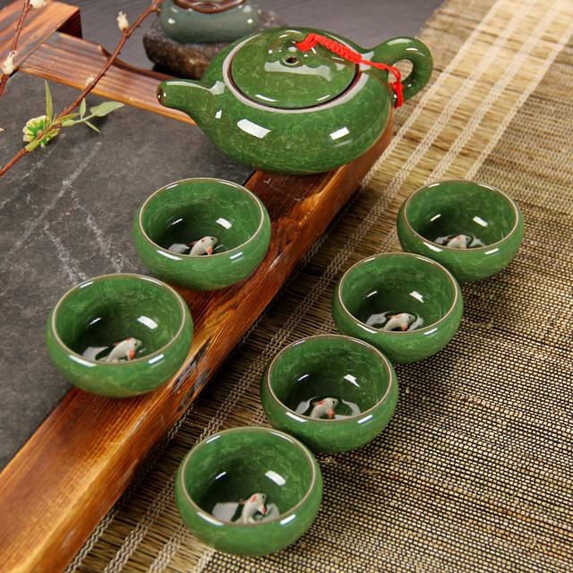 7 pcs Exquisite Tea Set