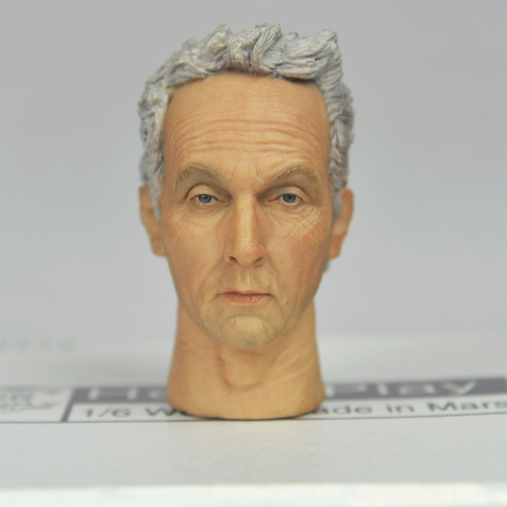 1/6 scale action figure toy Head Sculpt Tobin Bell SAW