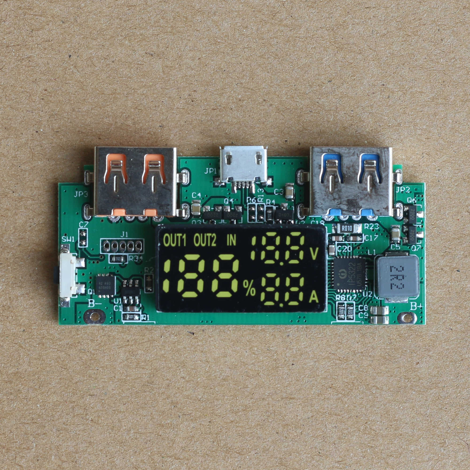 Detail Feedback Questions About Diy Mobile Power Bank Charging The Circuit On A Good Quality Pcb Or Common Board 37v L 5v Qualcomm Qc30 Fast Plate Rise Huawei Hass Supply