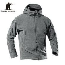 MEGE Dropshipping Lieferanten herren Winter Fleece Jacke Warme Outdoor Sport Wandern Camping Trekking Skifahren Lässige Sportswear 4XL