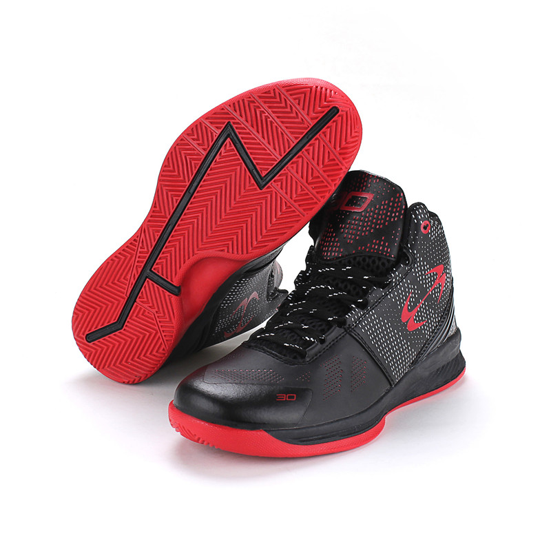 Basketball shoes PU adult children non-slip shock absorption breathable sports shoes