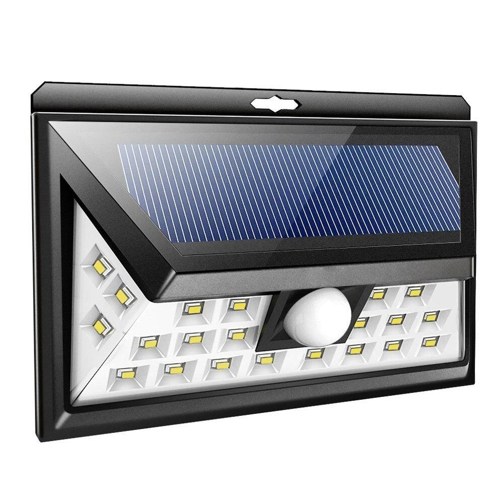 24LED Solar Lights Outdoor Waterproof Motion Sensor Wall Light Induction Wall Lamp Super Bright Garden Courtyard Security Lights