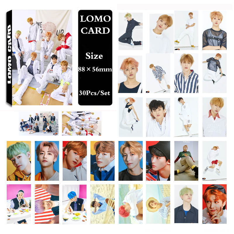 YANZIXG KPOP NCT NCT DREAM Album We Go Up Photo Card Poster Lomo Cards Self Made