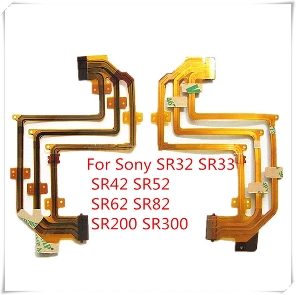 3PCS/FREE SHIPPING! LCD Flex Cable For SONY DCR-SR32E DCR-SR33E DCR-SR42E DCR-SR52E DCR-SR62E SR32 SR33 SR82 SR200 SR300 Camera