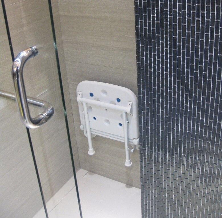 bathroom sauna stool plastic pe seat green blue